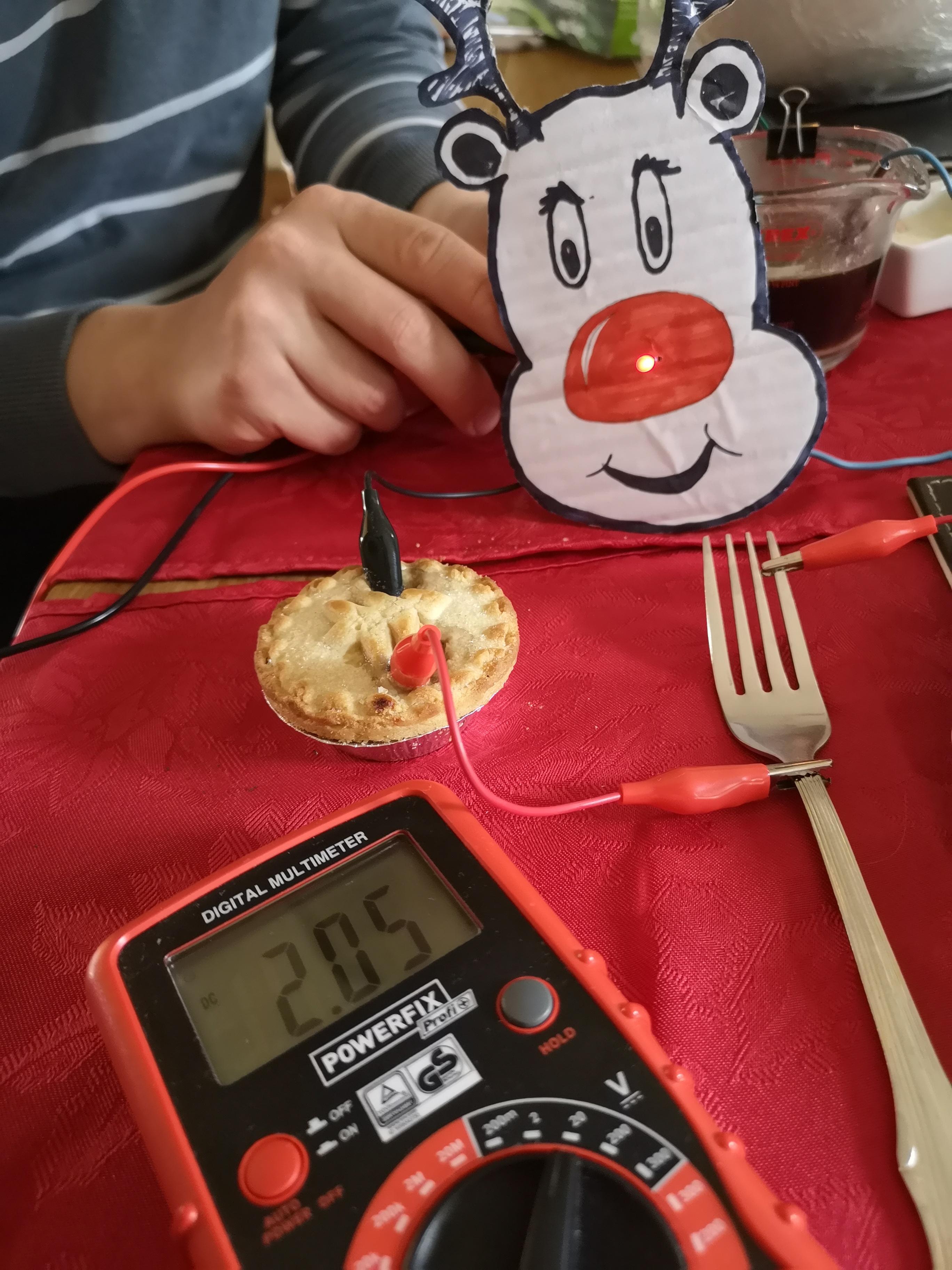 Christmas Dinner Battery