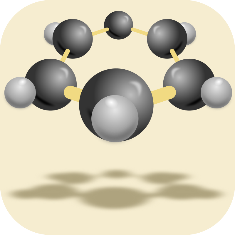 hexagonal shaped molecule